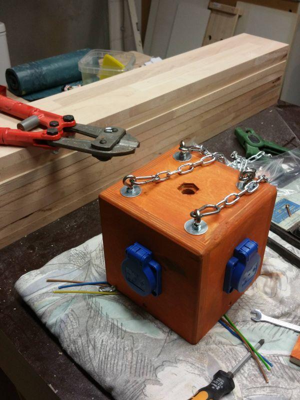 Power Cube Für Die Werkstatt Bauanleitung Zum Selberbauen 1 2 Do
