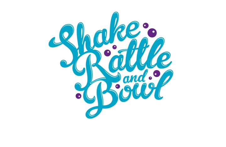 Logo created for Sydney foodies Shake Rattle  Bowl.