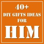 """Some great ideas """"for Him"""".. I had better start planning our gifts!"""
