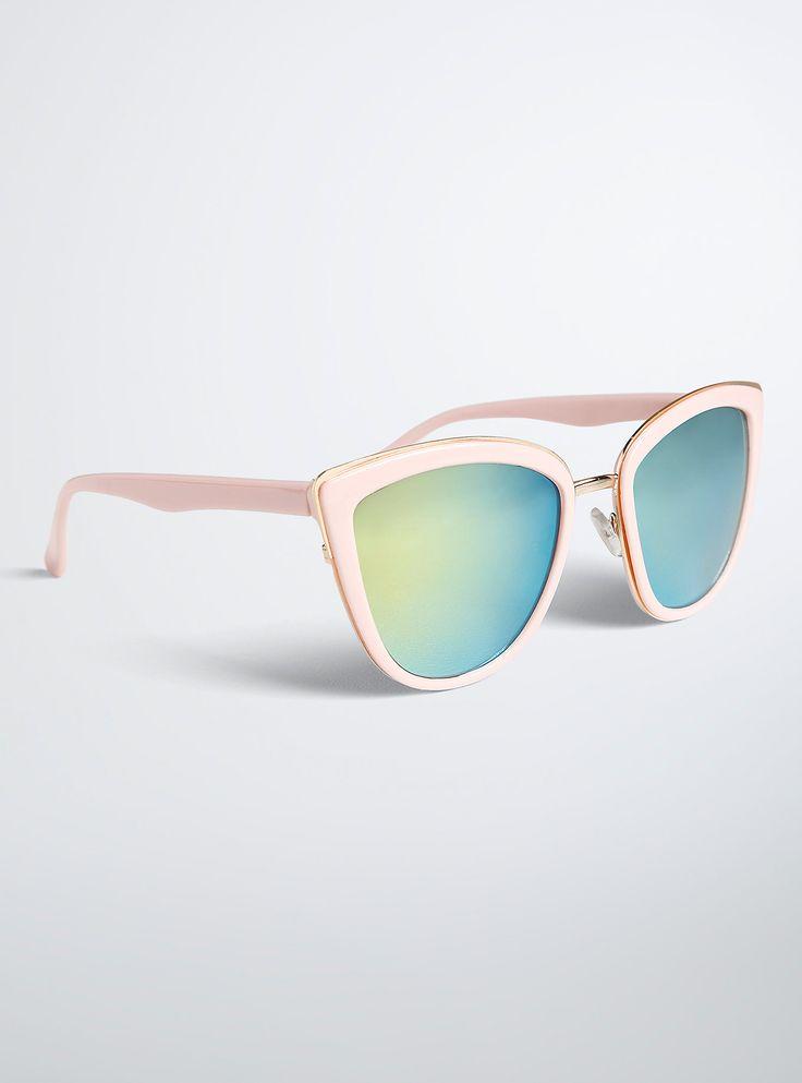 Tip Cat Eye Sunglasses,