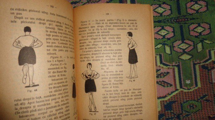 Manual de dansuri nationale ( desene - A. Jiquide ) an 1927/142pag- L. Vasilescu foto mare