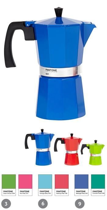Cafetera Pantone  #cafe #kitchen #azul #blue #home #design #colours