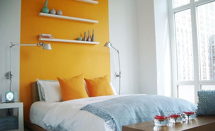 Magnificent Eclectic Wall Painting Ideas Applied In Cool Bedroom ...