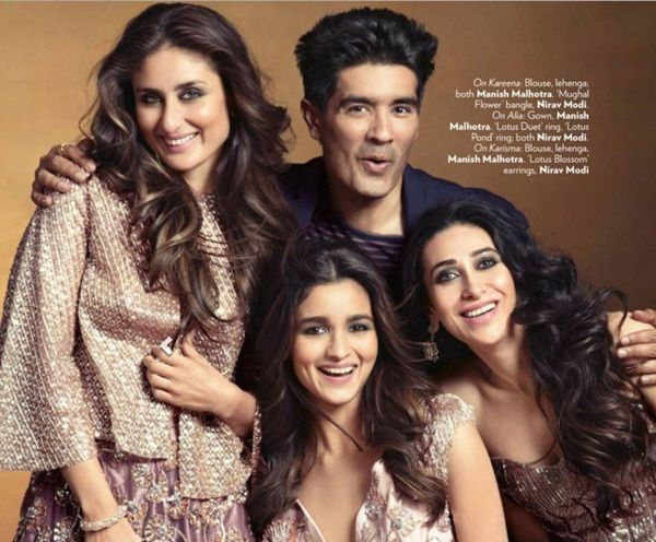 Kareena-Alia-Kajol-Karishma-Sridevi Photoshoot for Vogue Magazine December 2015
