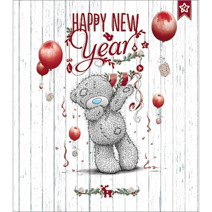 Happy New Year Me to You Bear Card