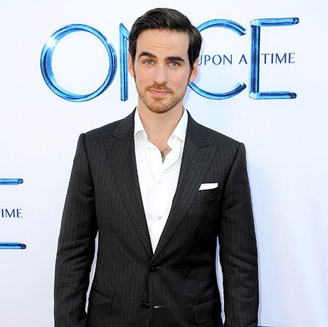 Colin O'Donoghue plays Captain Hook on Once Upon a Time.