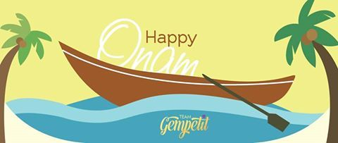Team Gempetit wishes everyone a very Happy Onam!   #Onam #SouthIndia #IndianFestivals #Celebrations #Gempetit #18ktGold #ExclusiveJewellery #Infants #Toddler #Teen