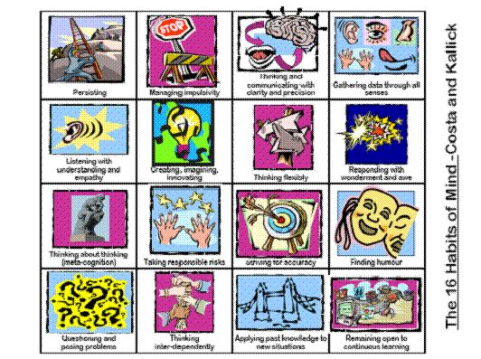 16 Habits of Mind of intelligent people