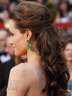 Angelina Jolie. Loor desenfadado y chic