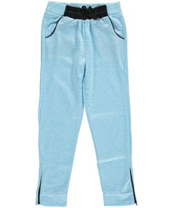 """Shampoo Big Girls' """"Cuff Zip"""" Jogger Pants (Sizes 7 – 16) $6.99 These French terry knit joggers from Shampoo are full of contrast accents to make them really pop."""