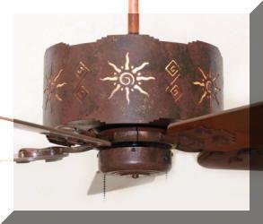 Santa Fe ceiling fan.