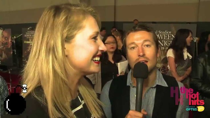 Maude Garrett freaks out after seeing Chucky mid interview with Leigh Whannell