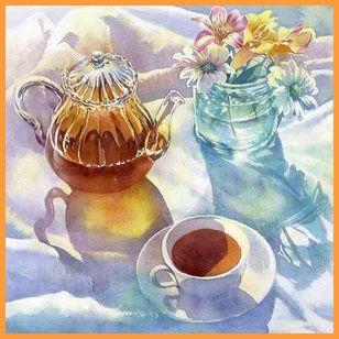 Травяные чаи очень полезны для нормализации работы нервной системы и регуляции женских гормонов.