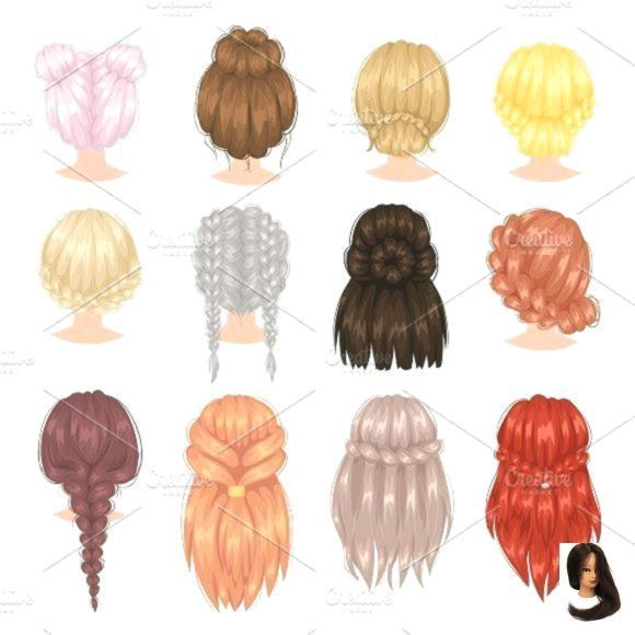 Bangs Cute Easy Easy Hairstyles Drawing Formal Hairstyles Bangs Cute Drawing Easy In 2020 Formal Hairstyles Easy Formal Hairstyles How To Draw Hair