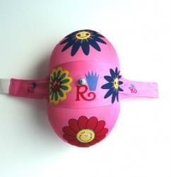Ballon dorsal rose