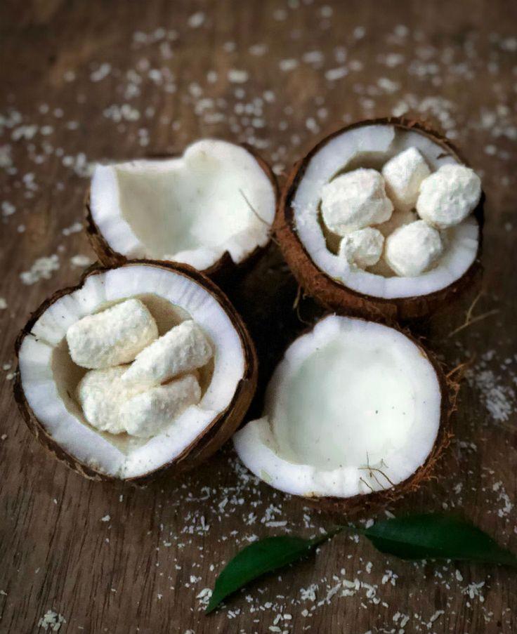 Bala de coco gelada que desmancha na boca – Cookterapia