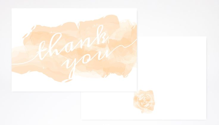 "A whimsical way to say ""Thank You"" with these cards, part of the ""Whimsy"" Collection by White Envelope Design Studio.  #celebrationsdesigned #thankyoucard"