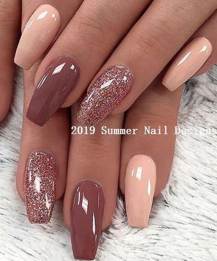 33 Süße Sommer Nail Design Ideen 2019 #summernaildesigns #nail – Summer Nails