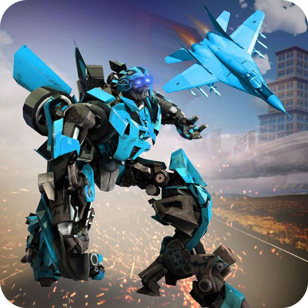 #NEW #iOS #APP Air Robot Battle Game - Ahmed Kamal Pasha