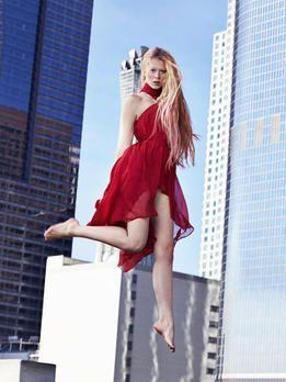 germanys next topmodel 2014 trampolin shooting