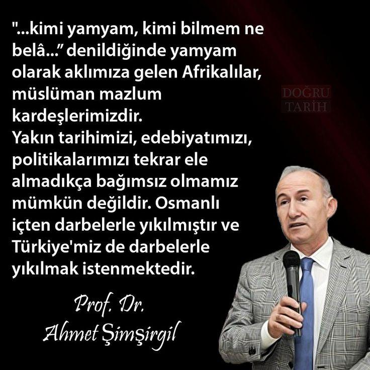 Osmanlı içten darbelerle yıkılmıştır ve Türkiye'miz de darbelerle yıkılmak istenmektedir. #OsmanlıDevleti #ahmetşimşirgil