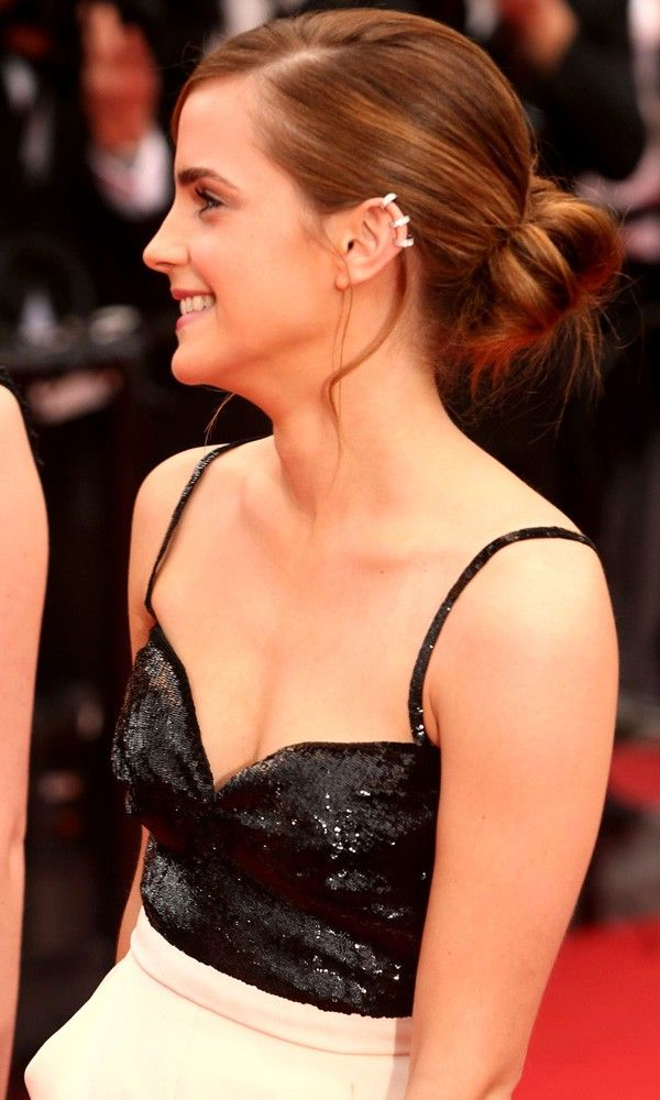 Emma Watson with ear cuff at The Bling Ring premiere