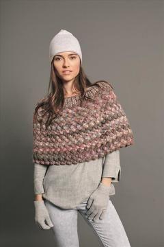 Kombi-Häkelstück: Winterrock oder Kurzponcho für Damen - Häkelanleitung via Makerist.de  #häkeln #häkelanleitung #häkelnmitmakerist #crocheting #crochetpattern #crochet #rock #poncho #damen #