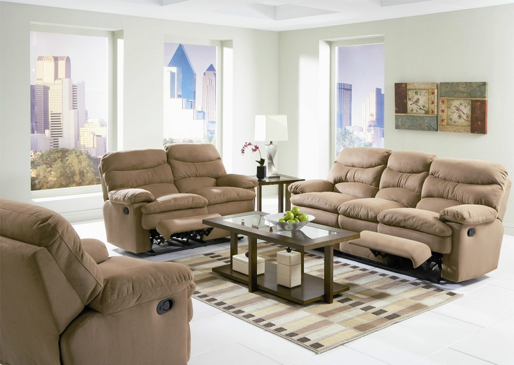 Details about Sofa Loveseat Recliner Chair 3Pc Set Sectional Couch Reclining  Microfiber Sofa - 34 Best Images About Sectional On Pinterest Reclining Sectional
