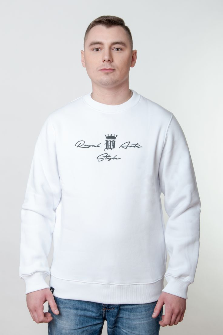 Mens Autograph Sweatshirt by Royal Arts Style