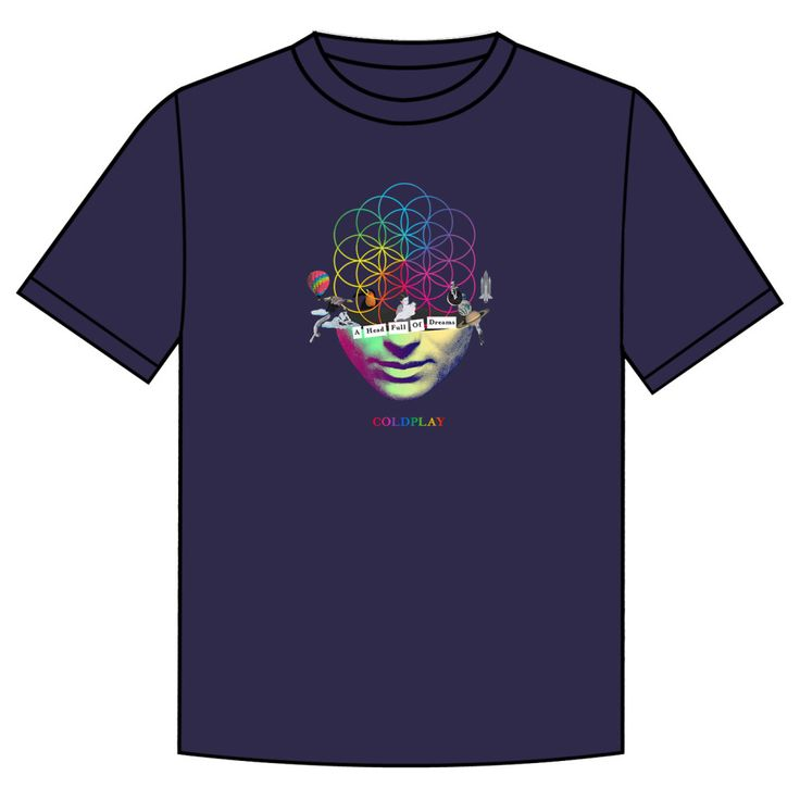 COLDPLAY T-SHIRT #AHFODtshirt