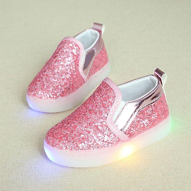 Детские светящиеся кроссовки и слипоны на Алиэкспресс