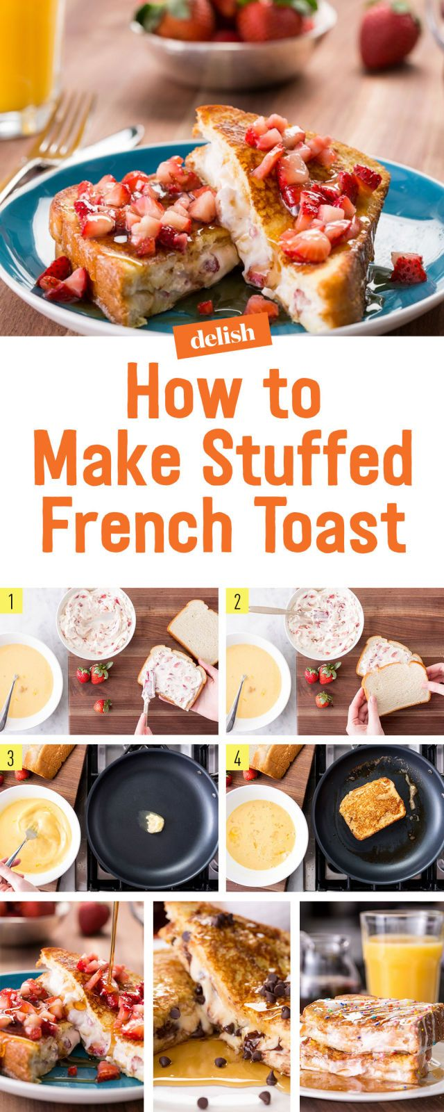 Here's The Right Way To Make Stuffed French Toast