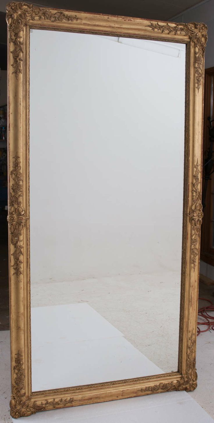 best  modern floor mirrors ideas only on pinterest  - french th century symmetrical giltwood mirror