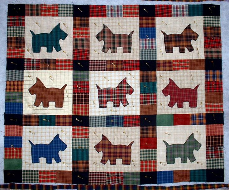 scottish quilts | Scottish Quilt Patterns - soooo cute!!!!wish I could have made one for my momma!!