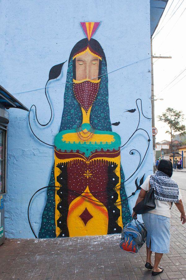 Binho Martins, Sao Paulo - unurth | street art #Brazil #streetart #art