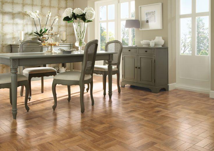 Karndean wood flooring - Blond Oak by @KarndeanFloors #flooring #interiors