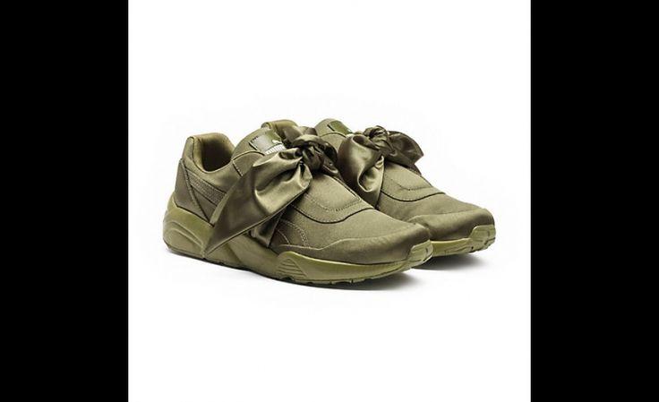Tendance chaussure #4: Les espadrilles Puma avec boucles à ruban!!!! Joliiiiii