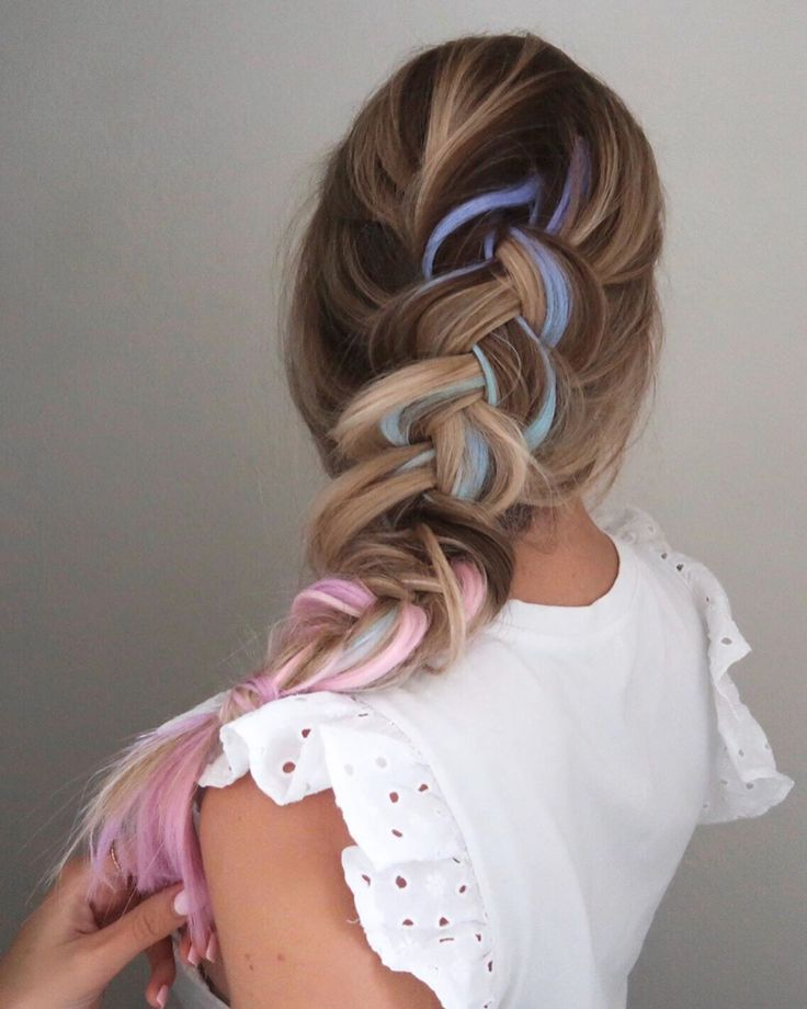 20+ DIY Easy Pretty Ponytail Hairstyles You Can Actually Do at Home in 2020 | Braids for long ...