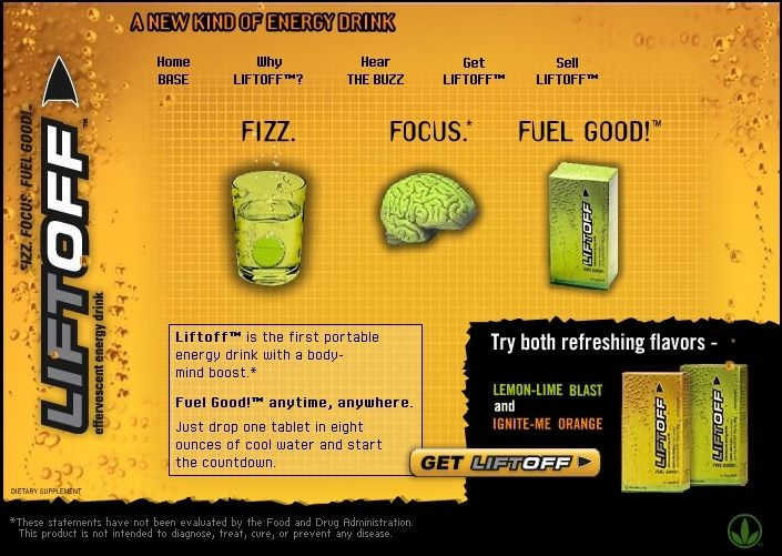 Need some ENERGY? Want to FOCUS and CONCENTRATE BETTER? Take LiftOFF! LiftOff is the First portable Energy Drink with a Body- Mind- Boost. Ideal for students, doctors, athletes etc. Click on the PIN, read more at the website, ORDER LiftOff and Feel the Difference! http://www.goherbalife.com/blancah