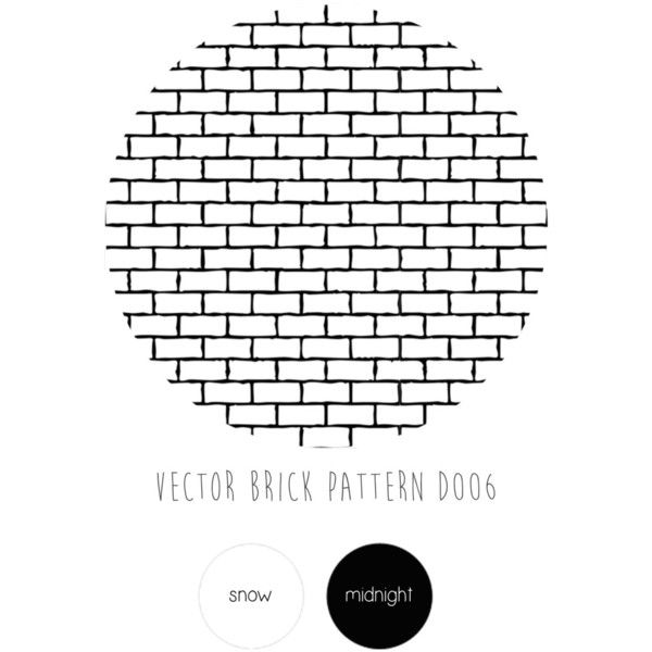 Self Adhesive Vector Brick Pattern Removable Wallpaper D006 ($34) ❤ liked on Polyvore featuring home, home decor i wallpaper