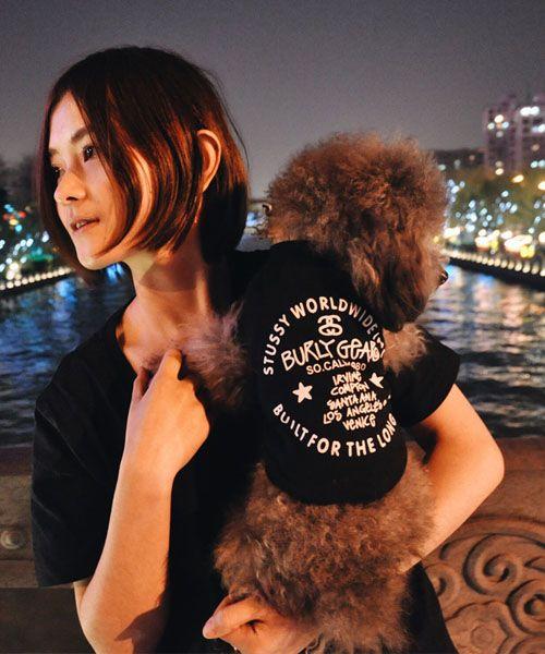 ステューシー 犬服 tシャツ,stussy ドッグウェア 親子服 レディース,通販