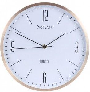 Zegar ścienny Erre - miedziany