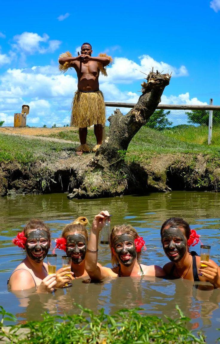 Hens Party Fiji - Mud Bath Experience