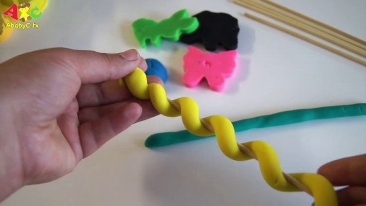 How to: PlayDoh Candies Play-doh Tofees Playdough Toys