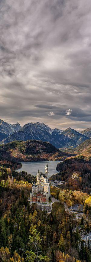 Castillo de Neuschwanstein, Baviera, Alemania                                                                                                                                                                                 Más
