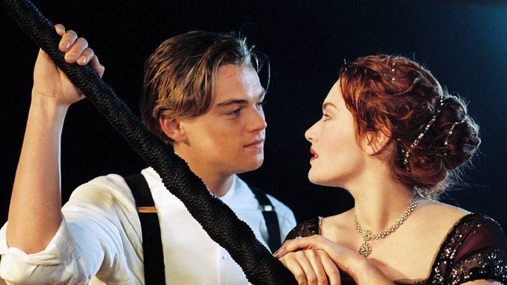 Rose et Jack, sur le Titanic