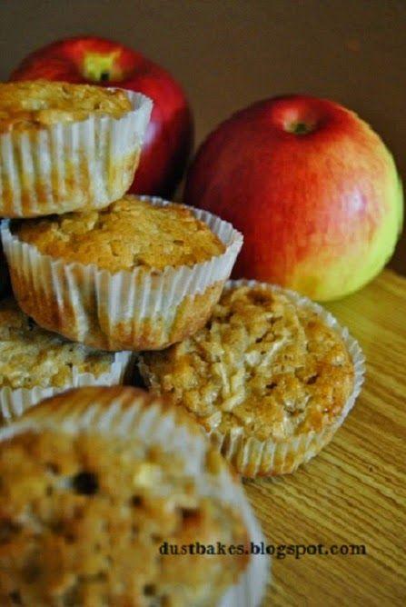 babeczki jabłkowo- cynamonowe