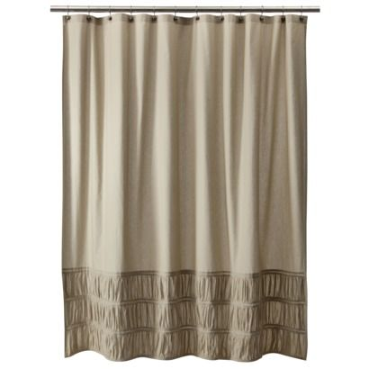 target home rouched shower curtain kids 39 new bathroom pinterest. Black Bedroom Furniture Sets. Home Design Ideas