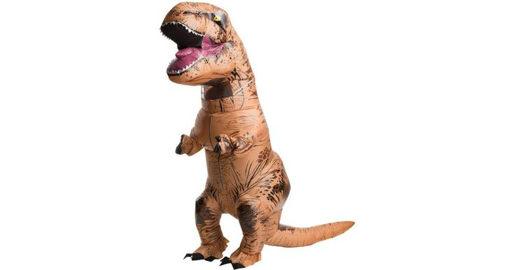 Jurassic World: Adult Inflatable T-Rex Costume | BuyCostumes.com