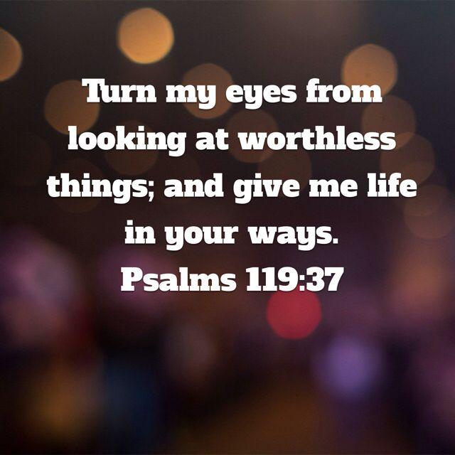 Psalms 119:37